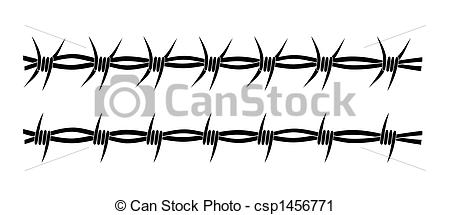 Barb Wire clipart Of wire tattoos Barbed tribal