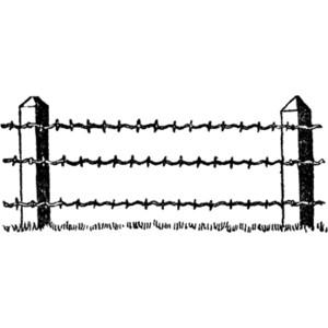 Barb Wire clipart bob #14