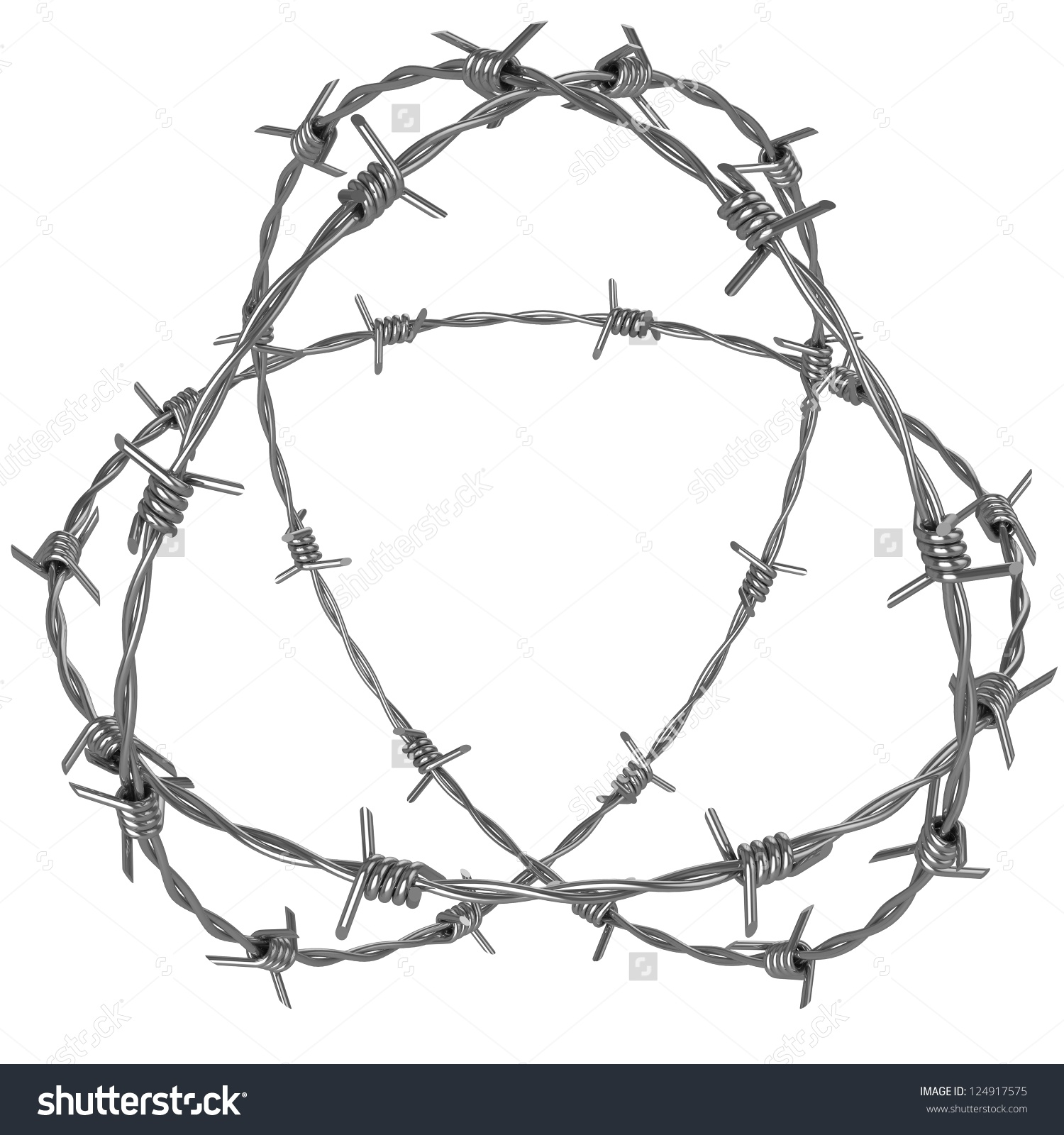 Barb Wire clipart circle #11