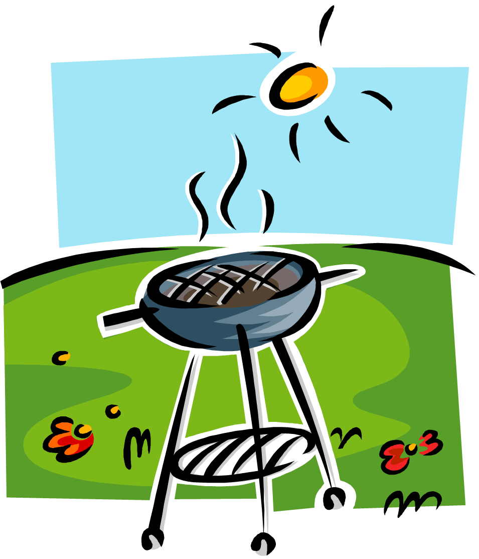Picnic clipart bbq party #12