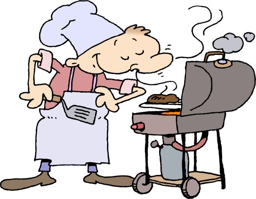 Barbecue clipart friends and family Free weekend day labor barbecue