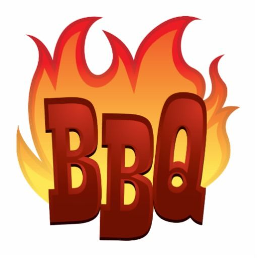 Barbecue clipart friends and family Bbq Free flyer free clipart