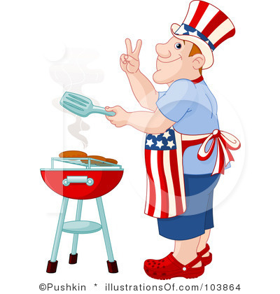 Barbecue clipart 4th july Clipart Images Free Clipart Border