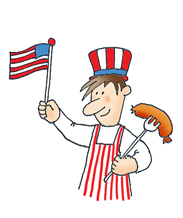 Barbecue clipart 4th july Clipart July july of 4th