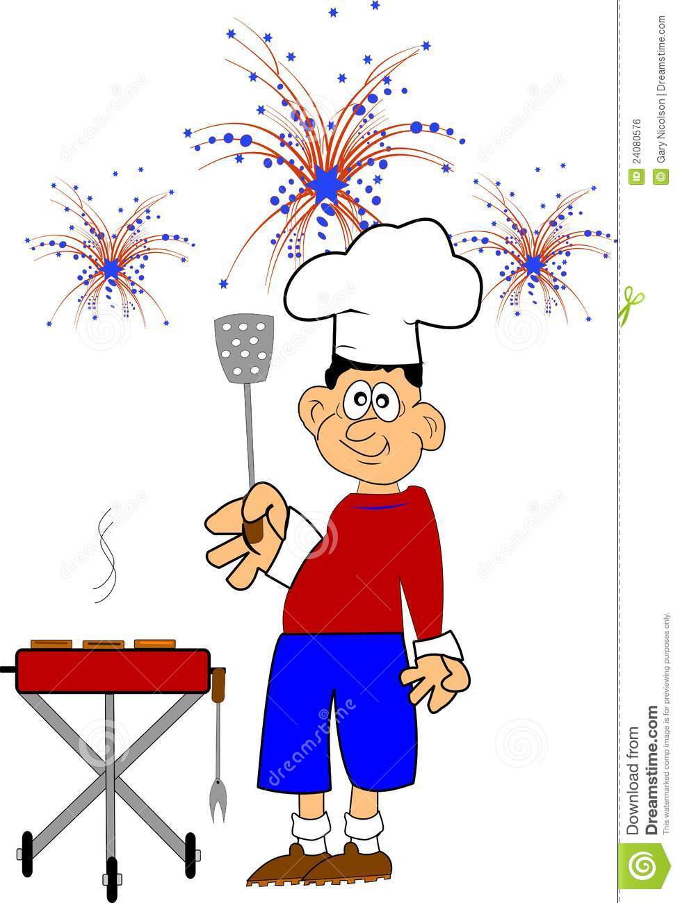 Barbecue clipart 4th july Panda Free Clipart Images Clipart