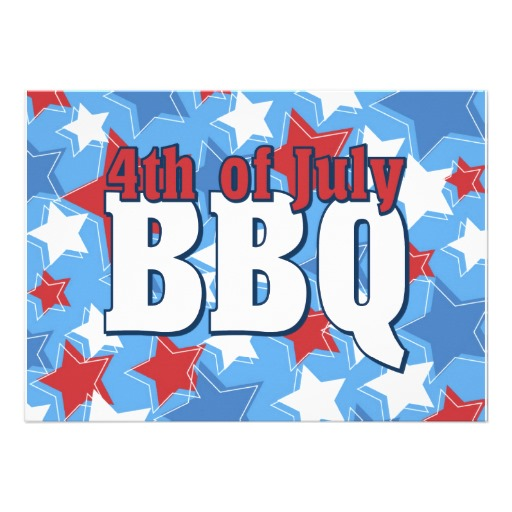 Barbecue clipart 4th july Quotes Custom 4th Invitation Of