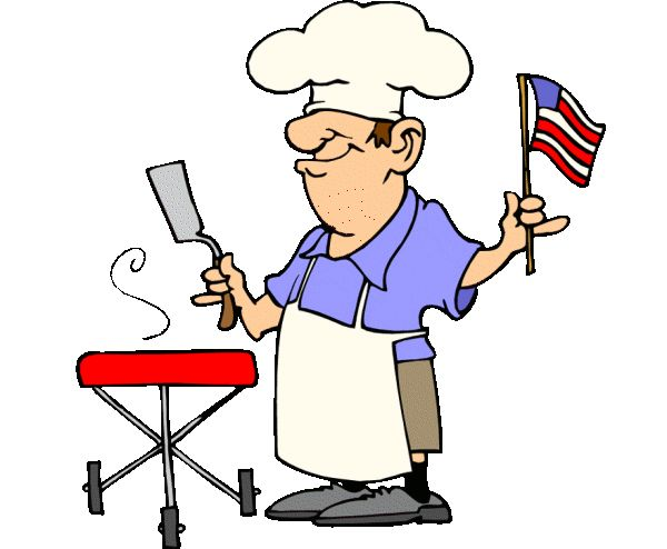 Barbecue clipart 4th july Guy free 4th image of