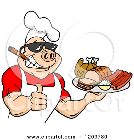 Pig clipart pig bbq Retirement + pig Clipart Happy
