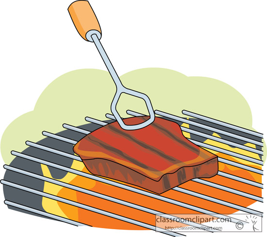 Ham clipart cooked steak Meat on Graphics barbecue Clipart