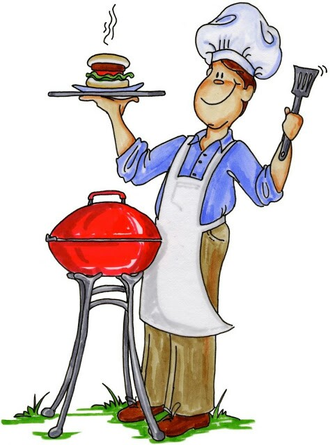 Barbecue clipart bbq chef Sur art bbq Cuisinier essayer