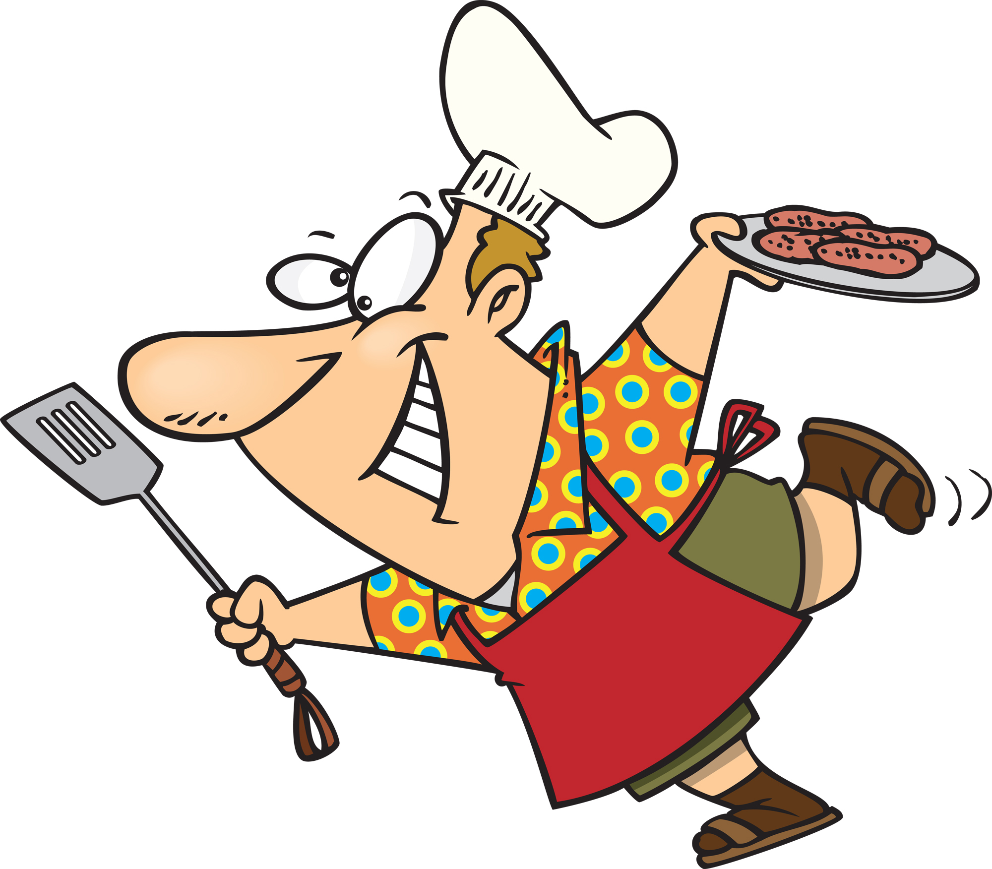 Barbecue clipart bbq chef Guy Barbecue Collection Onder Turaci