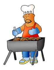 Barbecue clipart bbq chef Summer Bbq Party Free Panda