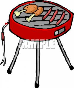 Barbecue clipart bbq chicken Clipart Hot Chicken and Grill