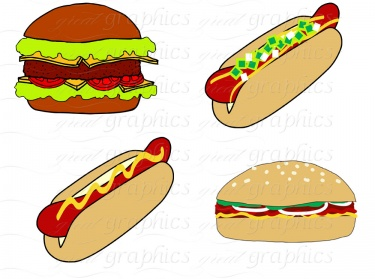 Hot Dog clipart red Bbq on clipart clipartix clipartcow