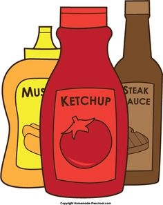 Sauce clipart black and white Free Bbq ideas page google