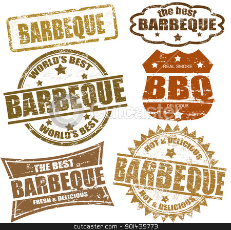 Barbecue clipart bbq party BBQ Clipart Art Party stamps