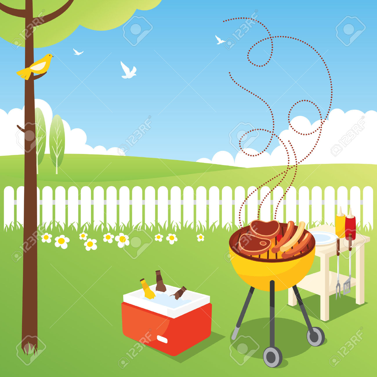 Barbecue clipart bbq party Barbecue Party Dartmouthincolumbus BBQ org
