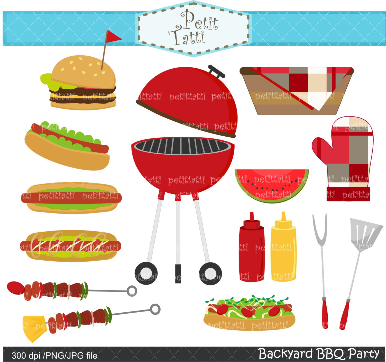 Burger clipart pop art Art burger party art art