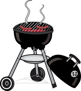 Kettle clipart smoke BBQ 74 Clip fair best