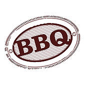 Barbecue clipart bbq rib Riding Pig Barbecue Clip Royalty