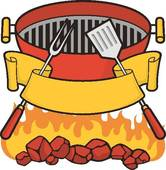Barbecue clipart bbq time Cartoon Barbeque Clip Royalty Charcoal