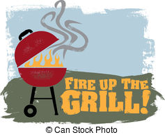 Barbecue clipart bbq time Clip and Barbeque clipart Illustrations