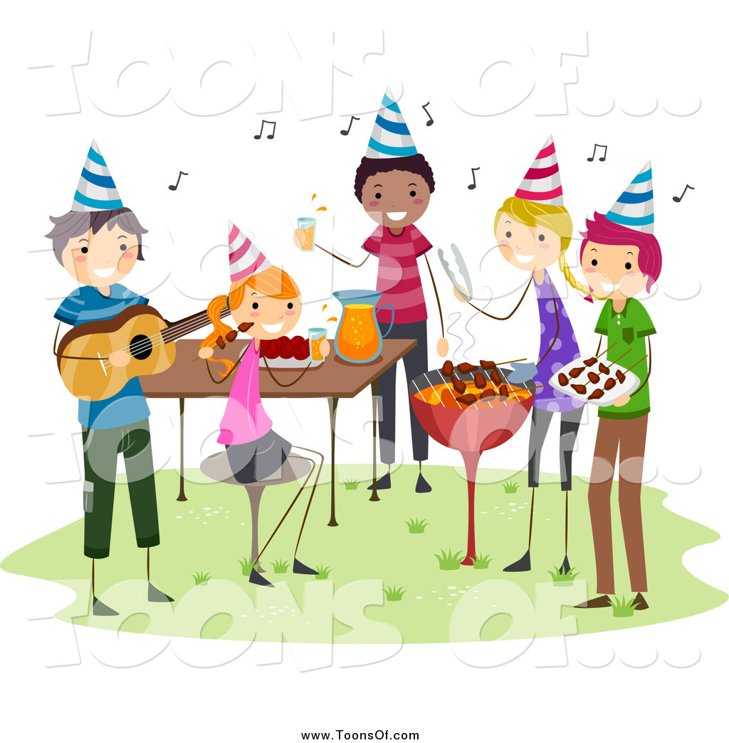 Barbecue clipart birthday bbq A Having Group BNP Clipart