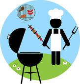 Barbecue clipart braai Bbq Illustration Royalty Clip backyard