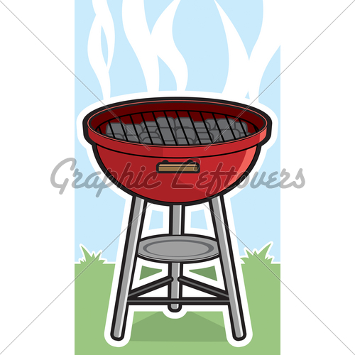 Barbecue clipart charcoal grill Images Grill Stock · With