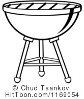 Barbecue clipart charcoal grill Clipart  White Grill Clipart
