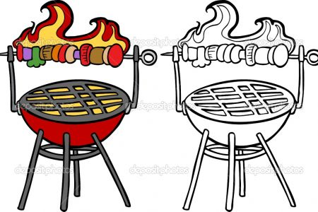 Barbecue clipart charcoal grill Barbecue Photos clipart Pics charcoal