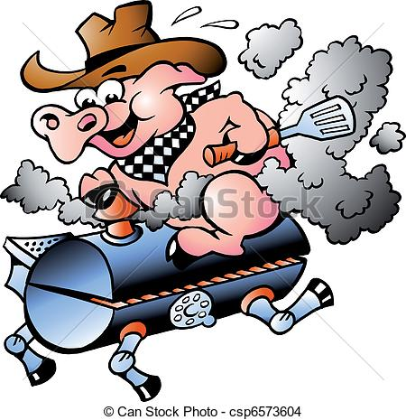 Roast clipart main course BBQ free on riding illustration