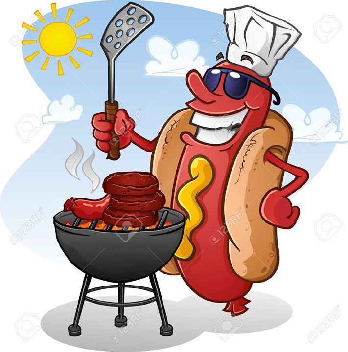 Barbecue clipart family fun Fun BBQ The at Romans
