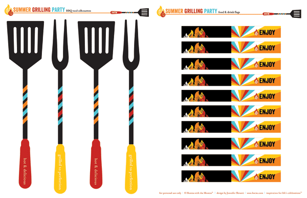 Barbecue clipart grill tools Of Bbq barbeque Images Template