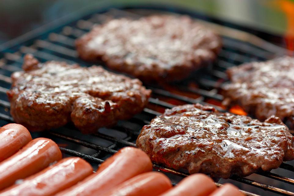Barbecue clipart hamburger hotdog  BBQ