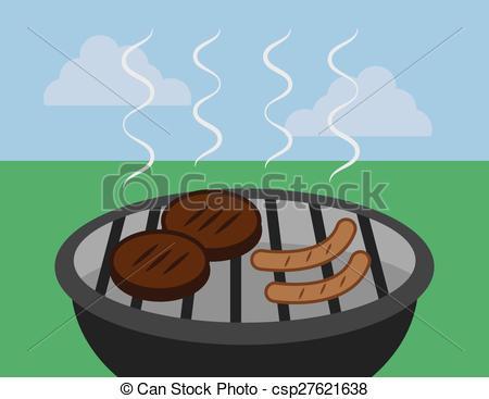 Barbecue clipart hamburger hotdog  Grill Hamburger Hotdog Grill