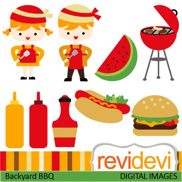 Barbecue clipart hamburger hotdog About best Art images more!
