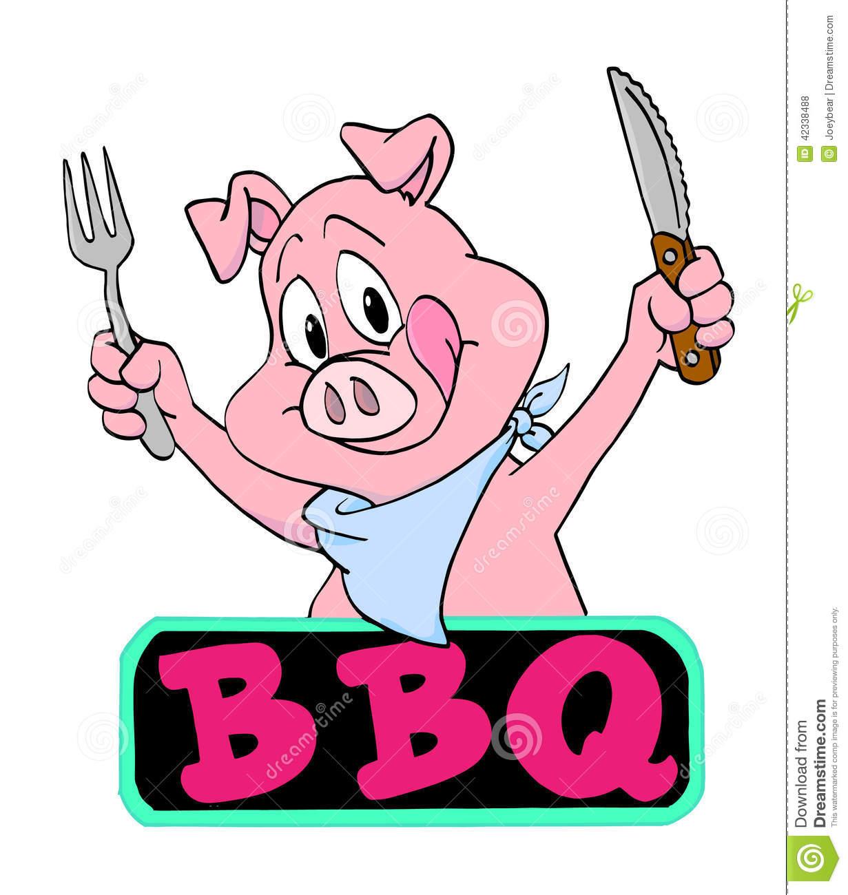 Pig clipart pig bbq Ser + pig Clipart Bbq