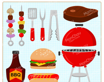 Barbecue clipart red grill Grill and Use Barbecue art