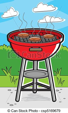 Barbecue clipart red grill  barbecue with Grill grill