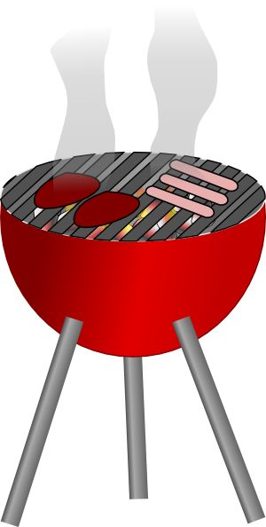 Bench clipart wooden chair Barbecue art grill best Pinterest