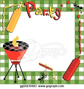 Barbecue clipart tailgate Google Pinterest 11 about Illustrations