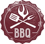 Stamp clipart bbq #10