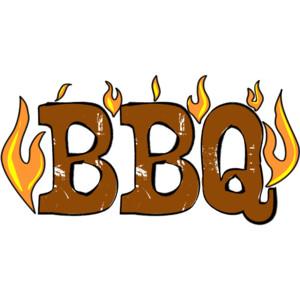Barbecue clipart word Clipart Church Bbq brand Bbq