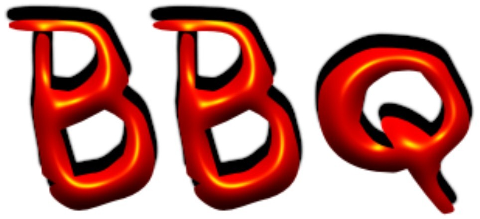Barbecue clipart word Clipart Free bbq Clipartix images