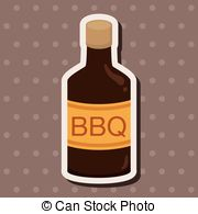 Barbecue Sauce clipart pulled pork Equipment elements Vector 1 603