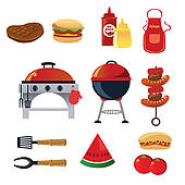 Barbecue Sauce clipart backyard bbq Clipart Food Panda Clipart backyard%20bbq%20party%20clipart