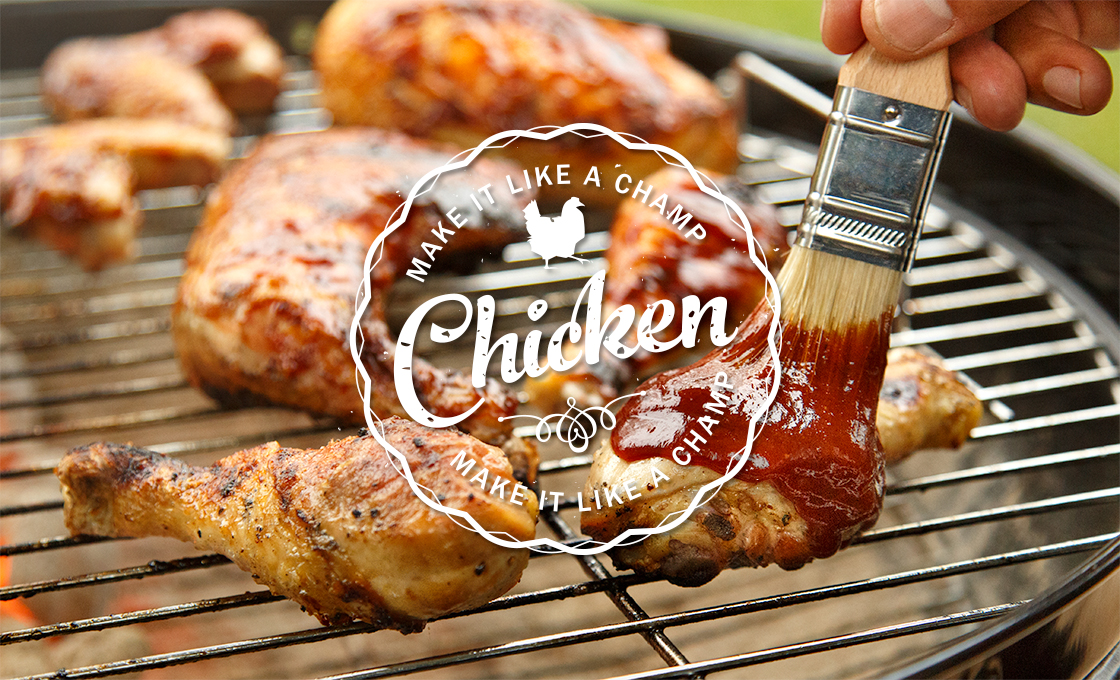 Barbecue Sauce clipart barbecue meat Kingsford glaze to Legs How