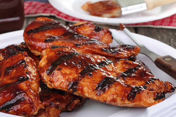Barbecue Sauce clipart bbq chicken Dillichef Breasts3 Grilled sauce with