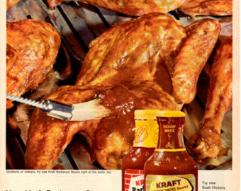 Barbecue Sauce clipart bbq chicken Chicken BBQ sauce wall decor